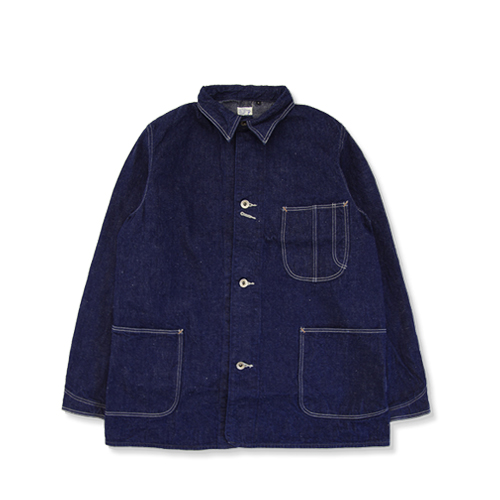ORSLOW40's Cover All JacketOne Wash