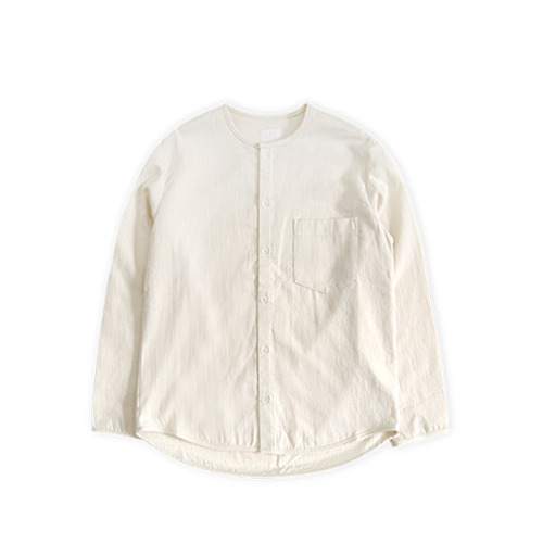 GARBSTORE Bleacher Button up Shirt, Natural