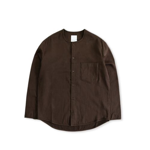 GARBSTORE Bleacher Button up Shirt, Brown