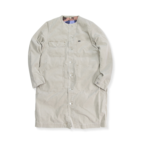 NYUZELESS Corduroy Shop Coat, Beige