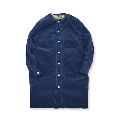 NYUZELESS Corduroy Shop Coat, Navy