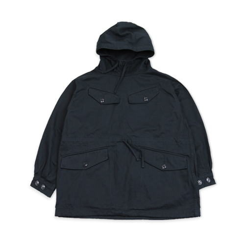 MONITALY Mountain Smock Herringbone, Black