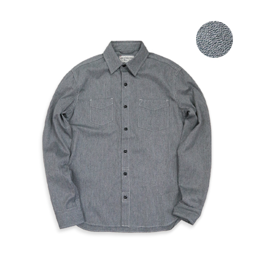 KNICKERBOCKER Service Shirt, Salt N' Pepper