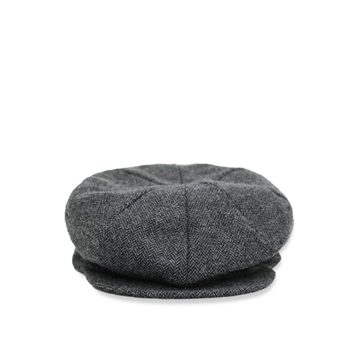 KNICKERBOCKER 8 Qtr Cap, Grey H.B