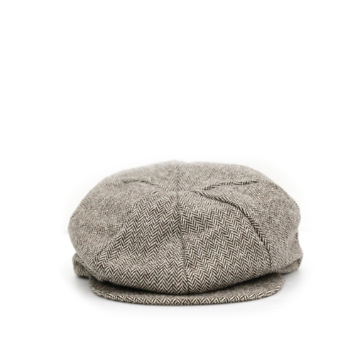 KNICKERBOCKER 8 Qtr Cap, Brown H.B