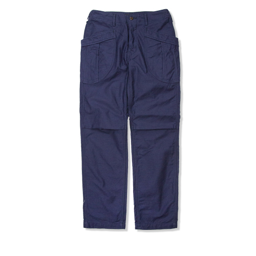 A VONTADE Fatigue Trousers, 3 Marine Navy