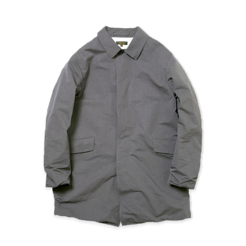 A VONTADE Wrincle Mac Coat -Rubber-, Steel Grey