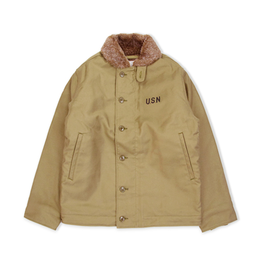 HOUSTON N-1 Deck jacket, Tan