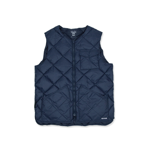 GERALD & STEWART BY FIDELITY Light Down Quilt Vest Pertex, Navy