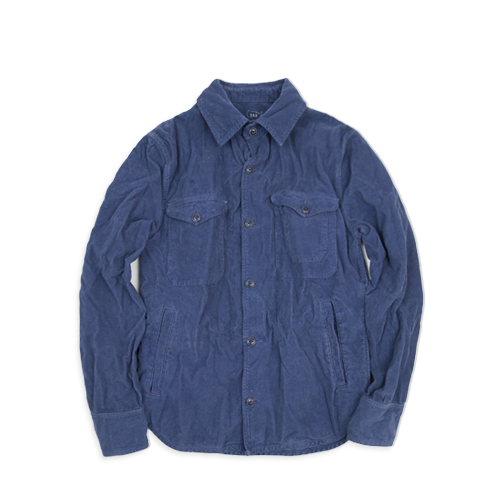 SAVE KHAKIPima Corduroy Multi-Pocket Jacket (SK-00848-PC), Blue