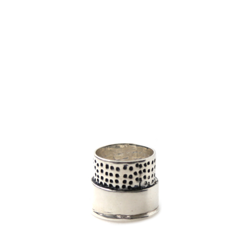 ART COMES FIRST Thimble Rings, Sliver