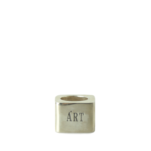 ART COMES FIRST ACF Rings, Sliver