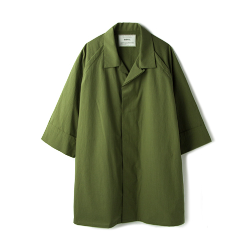 SALVY; High Count Typewriter H/s Shirts, Olive